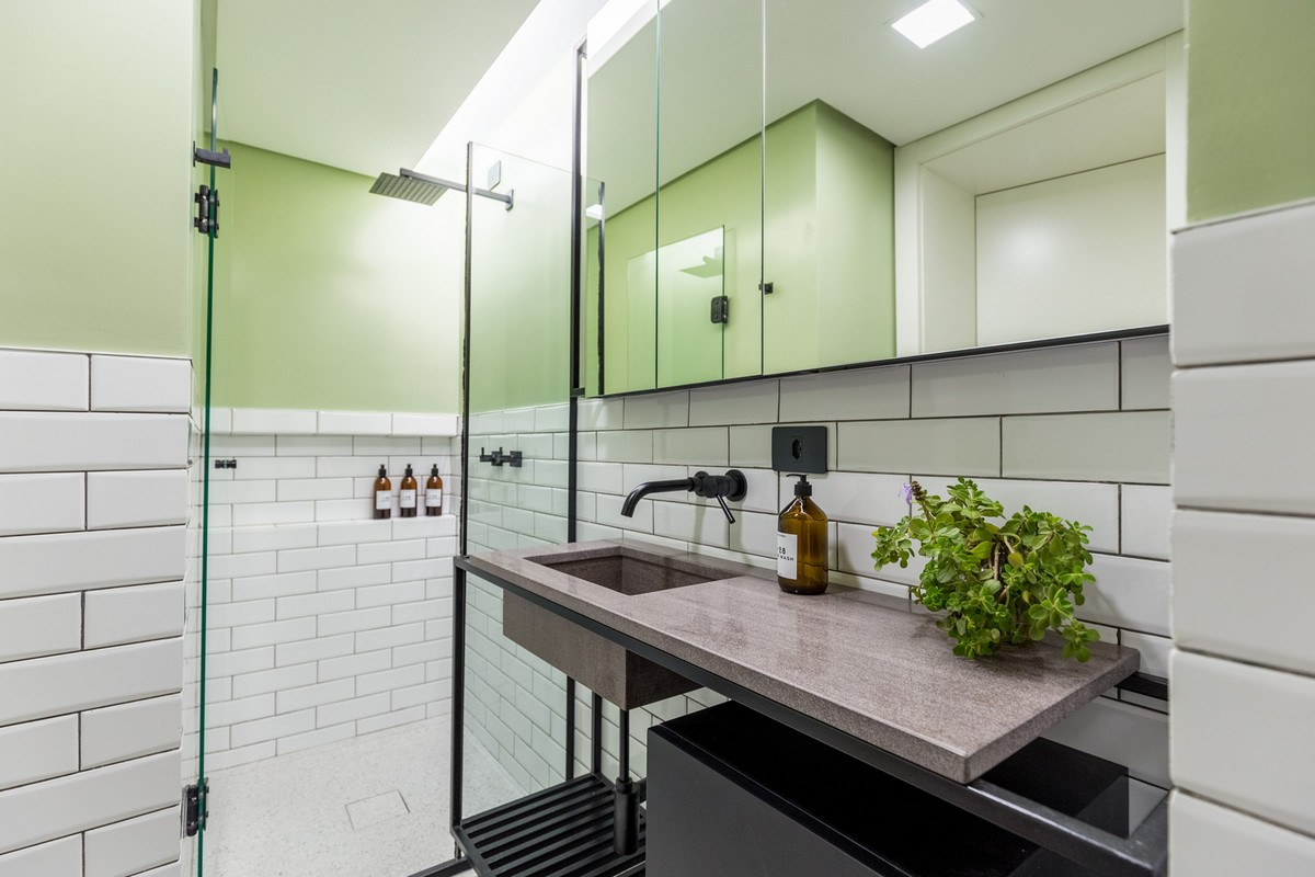 Превращение гостиничного номера в мини-квартиру в Бразилии