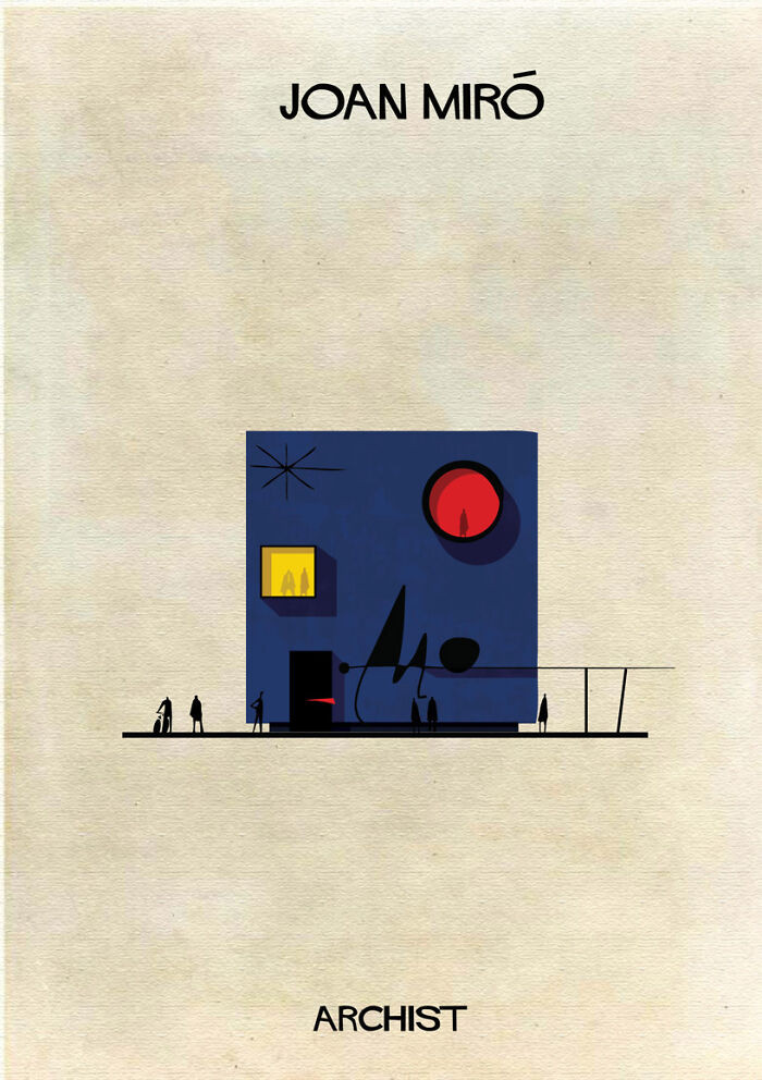 Как будет выглядеть архитектура, вдохновлённая работами известных художников