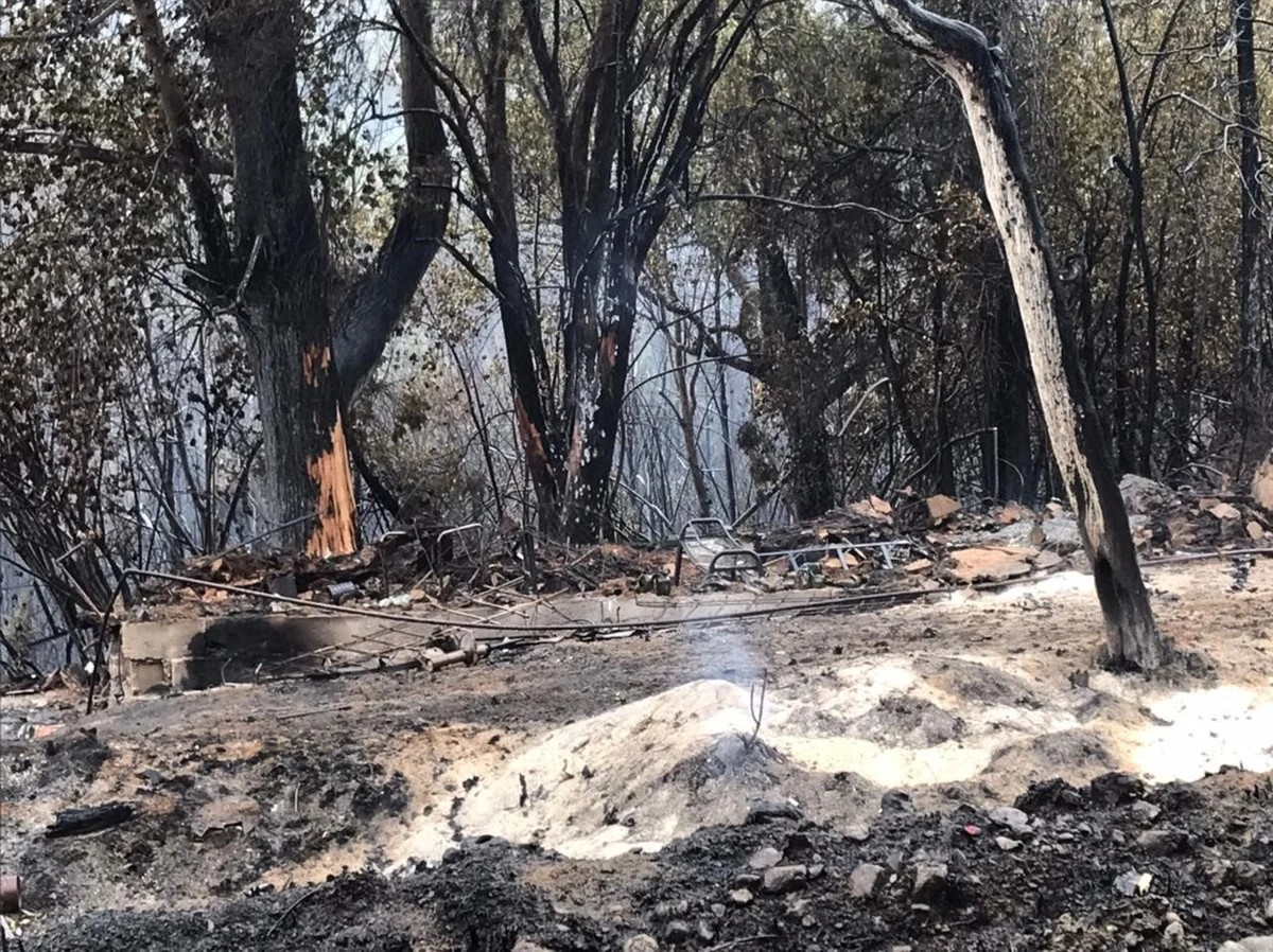 Лесные пожары уничтожили сотни домов в Аргентине