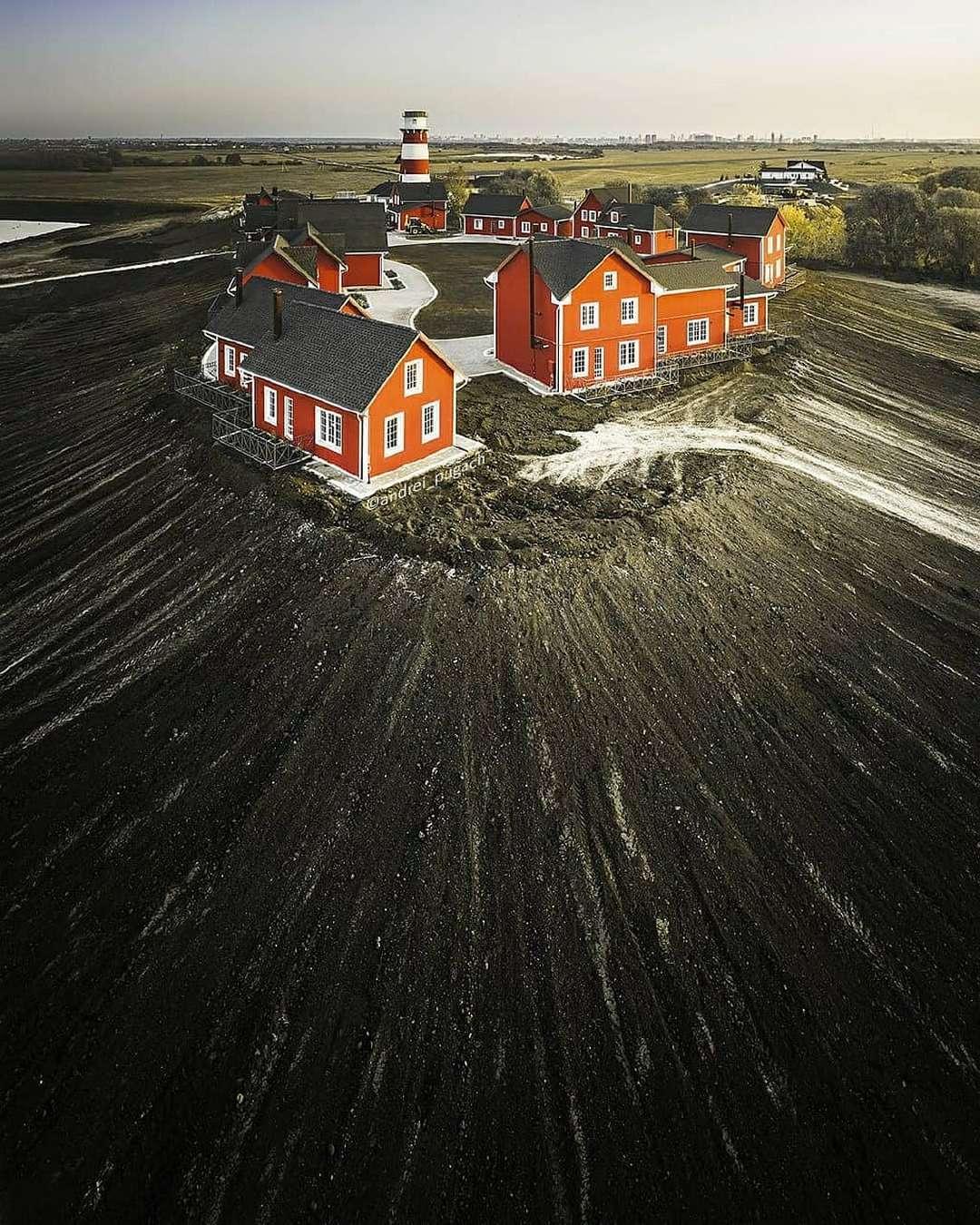 Впечатляющие аэрофотоснимки от Андрея Пугача
