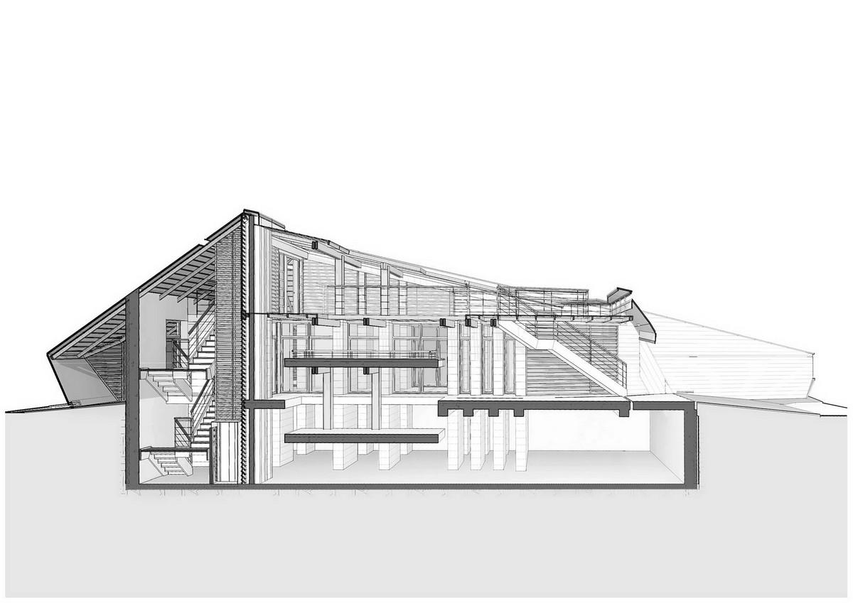 Концептуальный проект дома для жизни в условиях постапокалипсиса