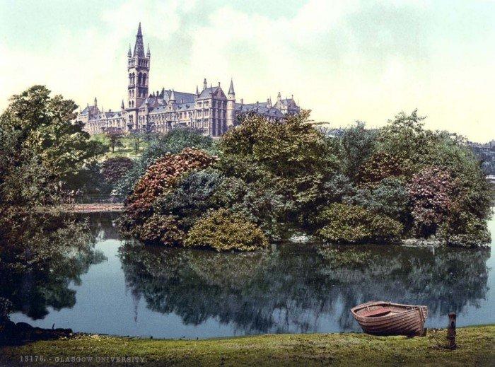 Фотохромные открытки с видами Шотландии в 1890-е годы