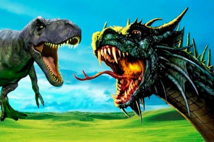 Почему динозавры существовали, а драконы нет?