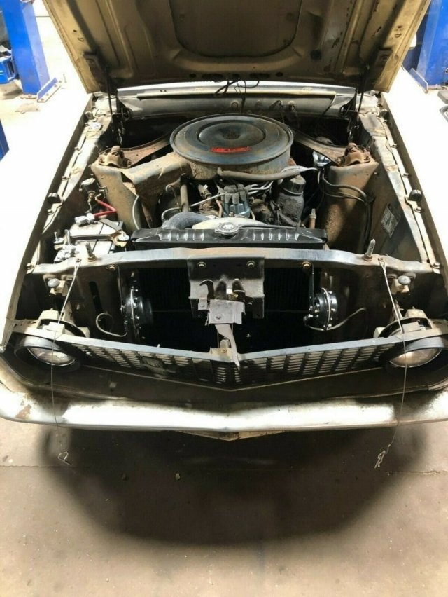 Ford Mustang 1969 года, который простоял 40 лет без движения