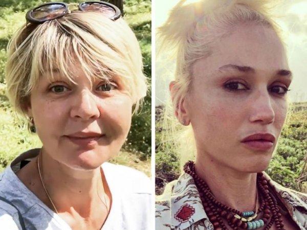Отечественные и зарубежные знаменитости-одногодки без косметики