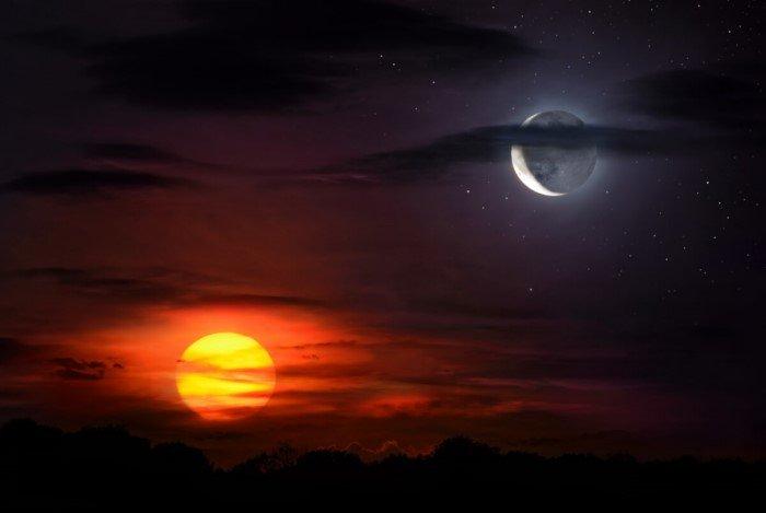 Как Солнце и Луна влияют на человека?