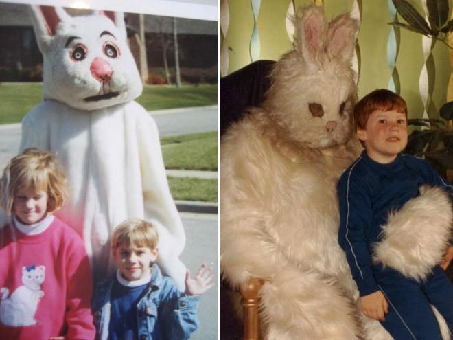 Пугающие пасхальные зайцы, которые могут присниться в кошмарных снах