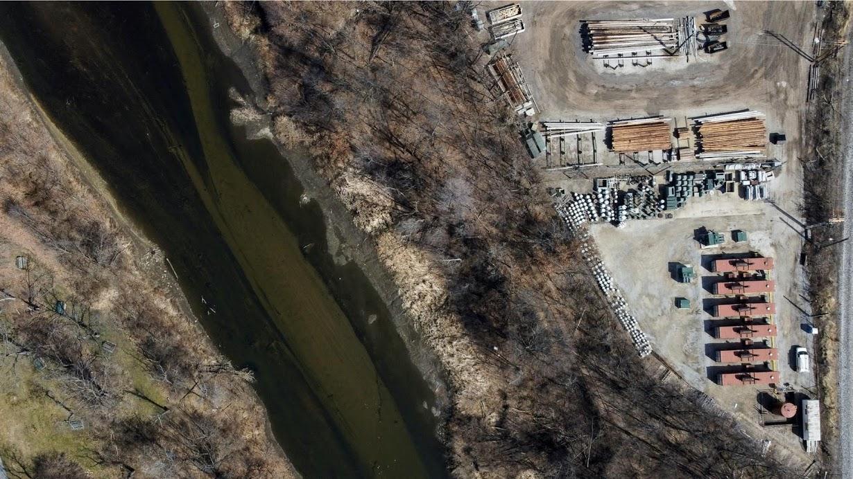 Загрязненные воды по всему миру на снимках с высоты