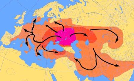 Кто жил на территории России до славян?