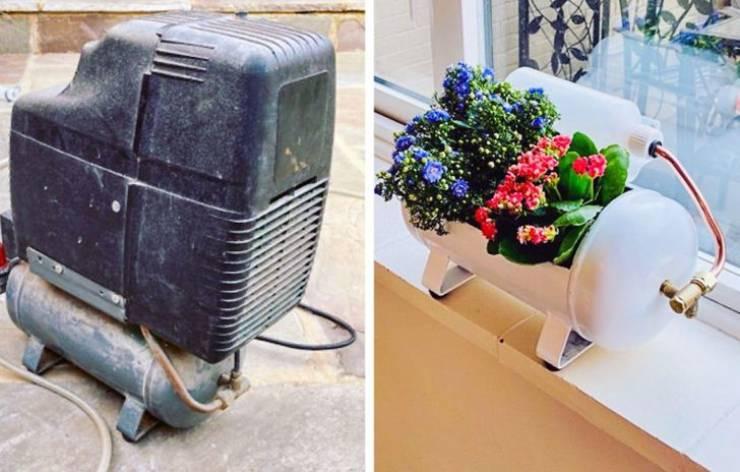 Люди дарят новую жизнь старым вещам