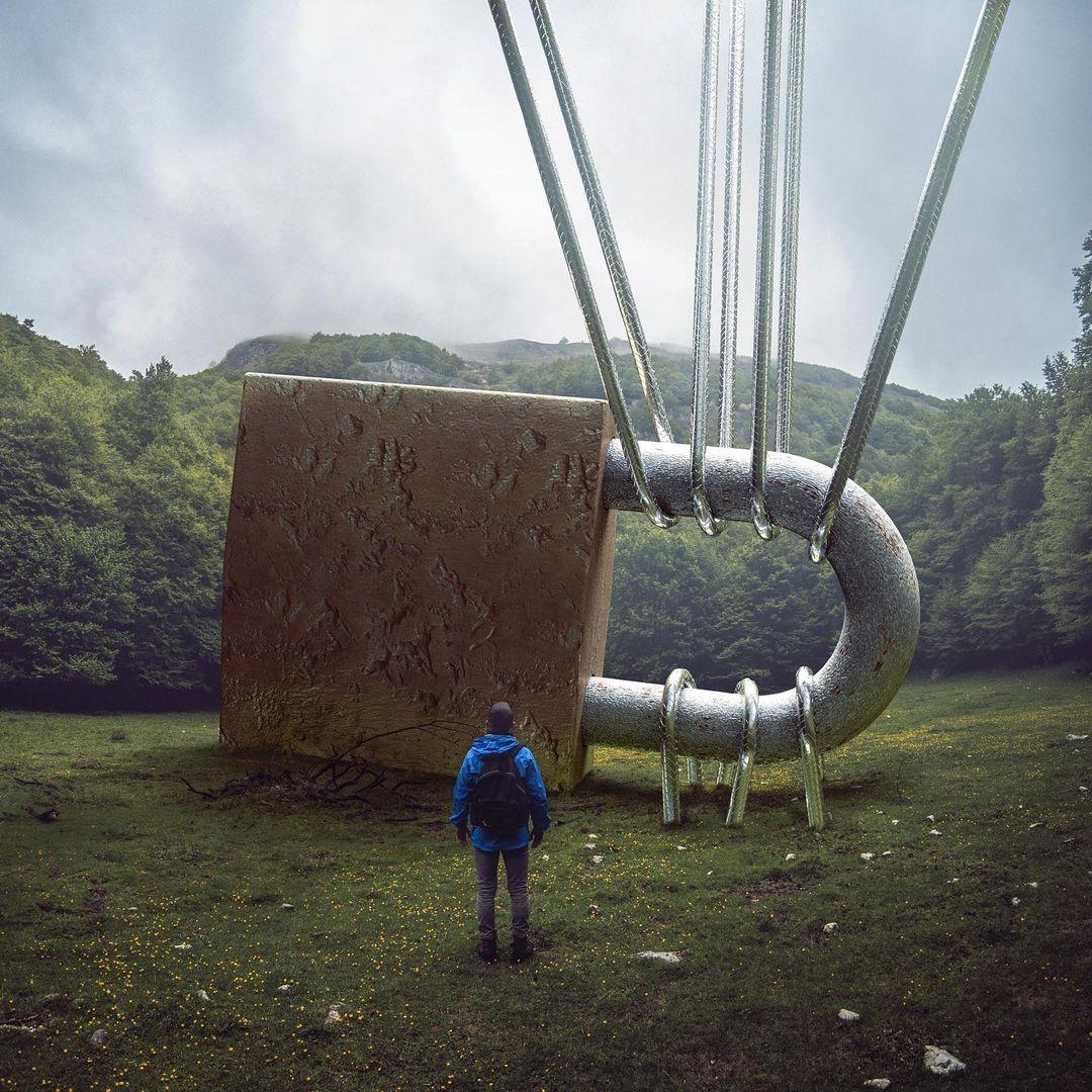 Увлекательные цифровые фотоманипуляции от Кевина Кардена
