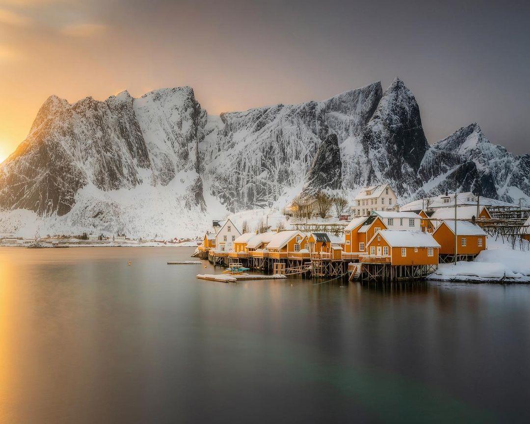 Природа и путешествия на умиротворяющих снимках Филипа Слотте