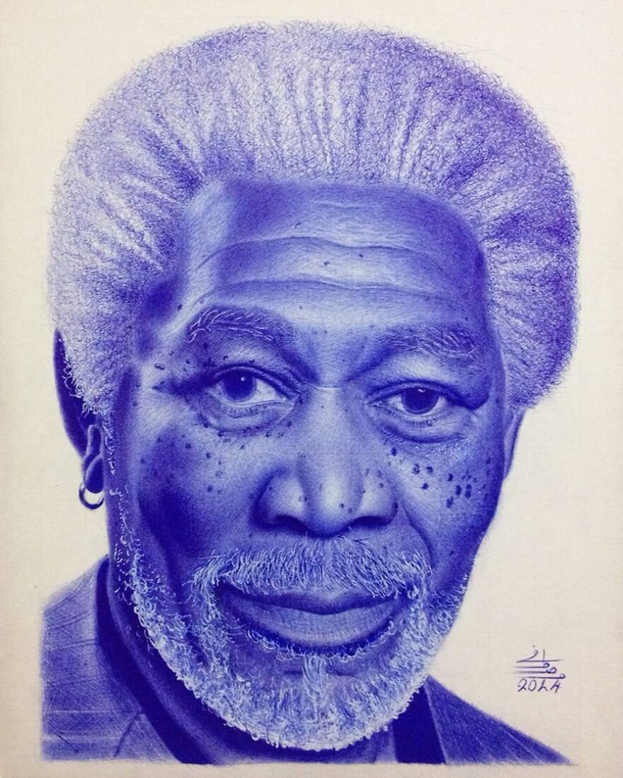Невероятно реалистичные рисунки от египетского художника Мостафы Ходеира