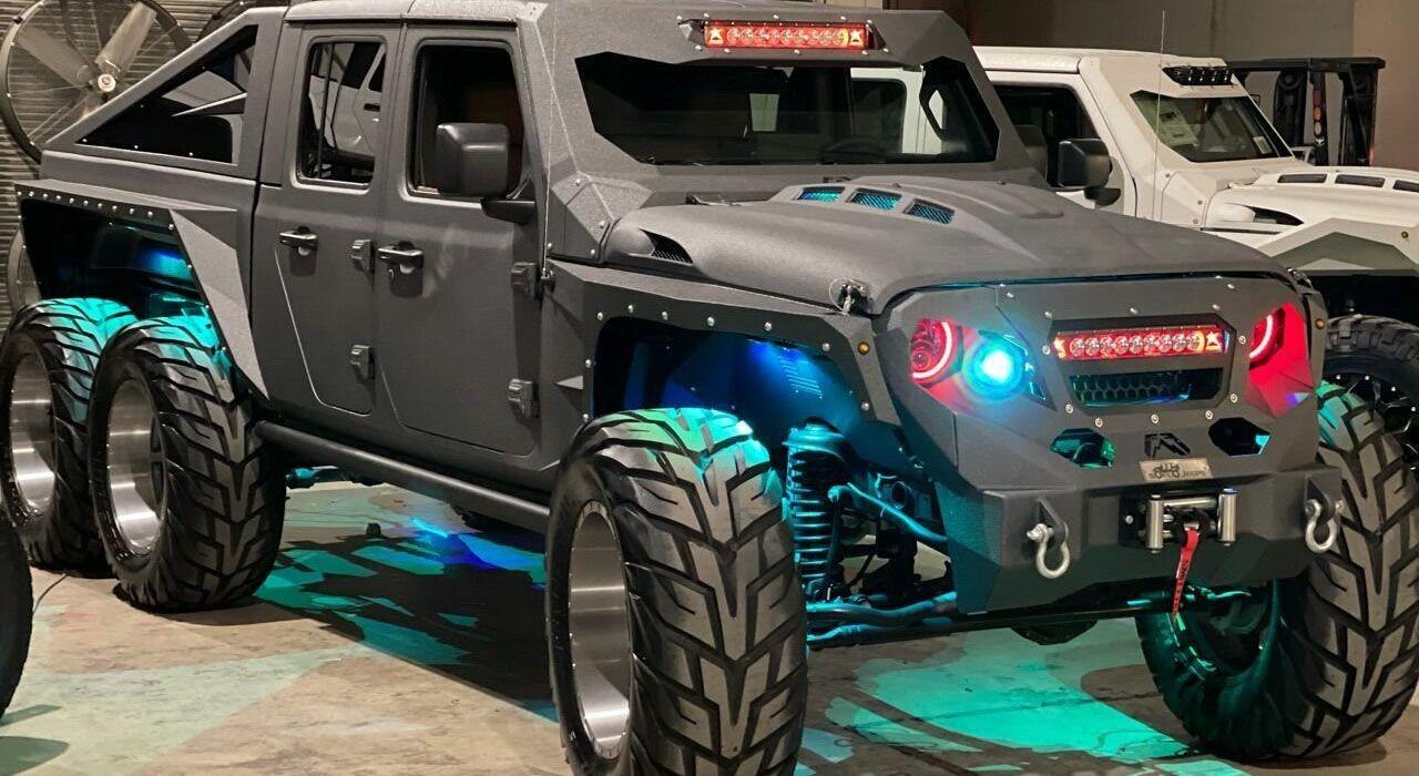 Jeep Apocolypse Hellfire 6x6 с двигателем V8