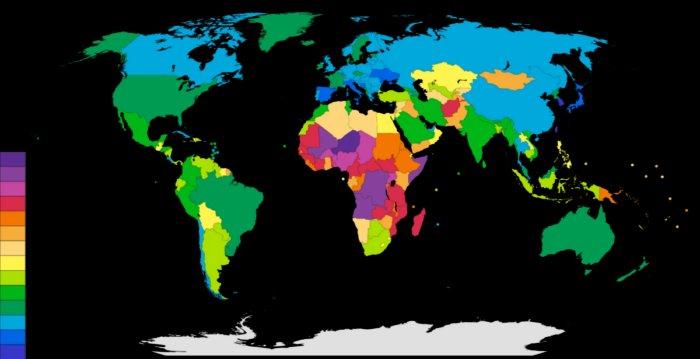Для чего снижают рождаемость в различных странах мира?