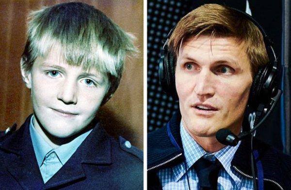 Российские звезды спорта в детстве на снимках