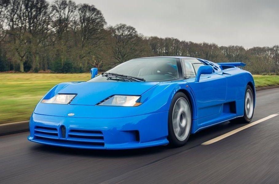 Редчайший Bugatti EB110 Super Sport выставили на продажу
