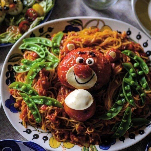 Веселые блюда для маленьких приверед