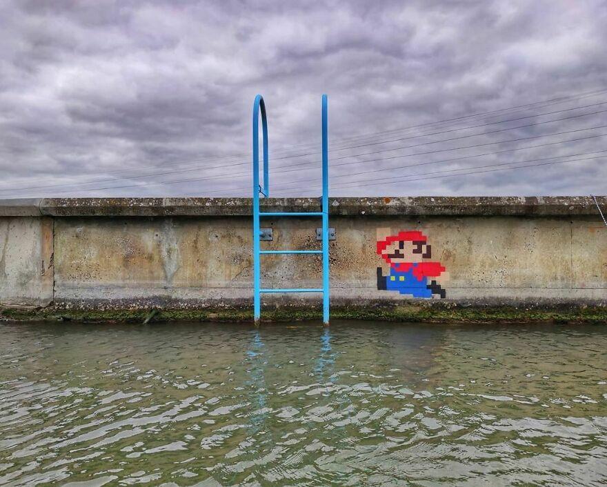 Французский уличный художник с безграничной фантазией