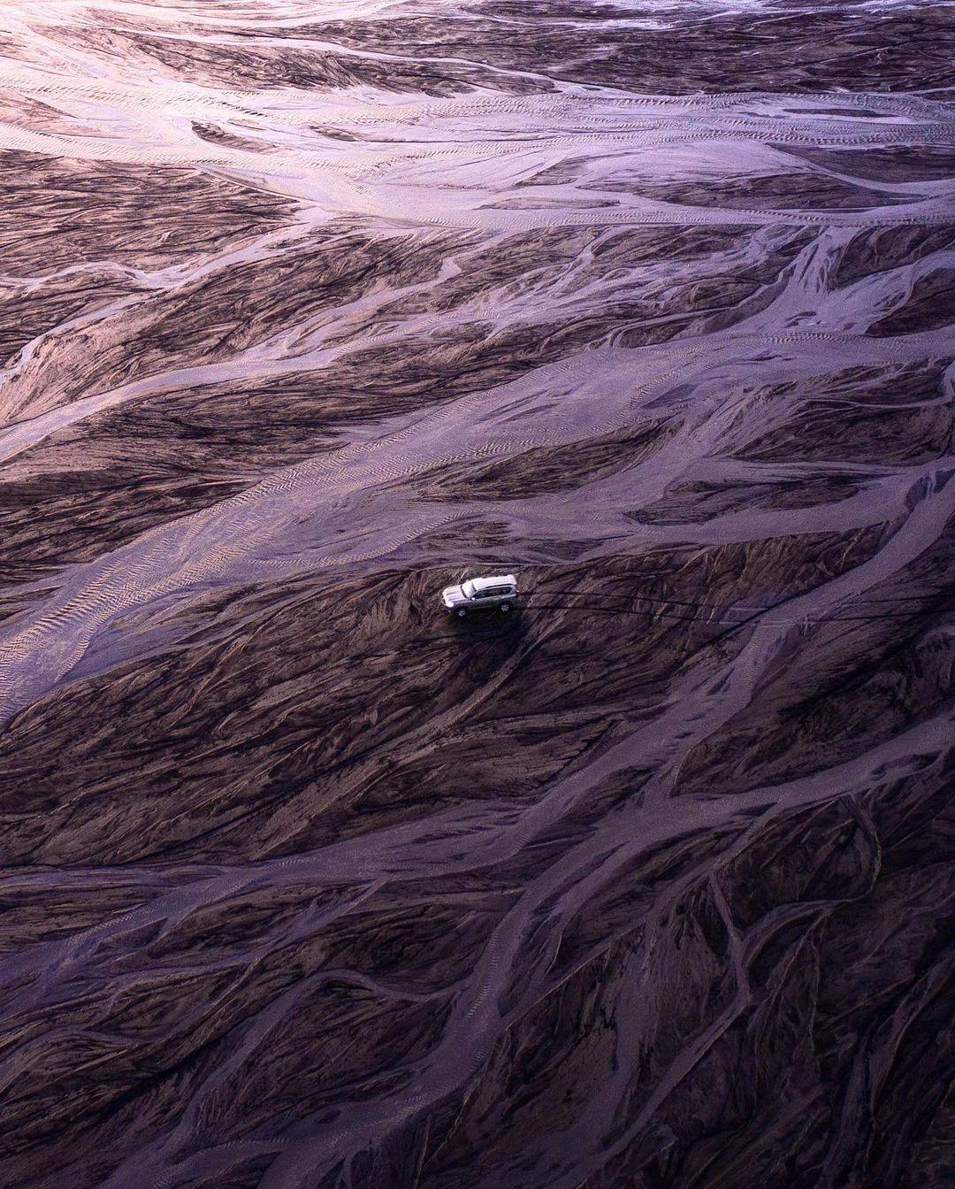 Природные и городские пейзажи на аэрофотоснимках от Хьюго Хили