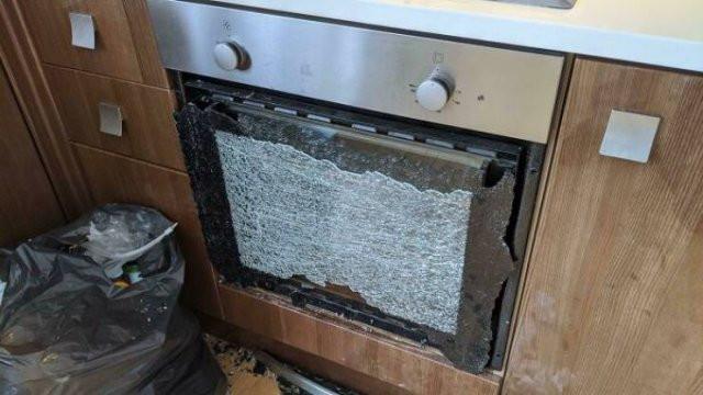 Снимки неприятных случаев, когда ремонт оказался не за горами