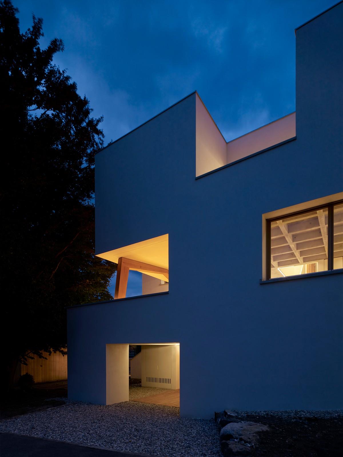 Трехэтажный семейный дом в Лихтенштейне