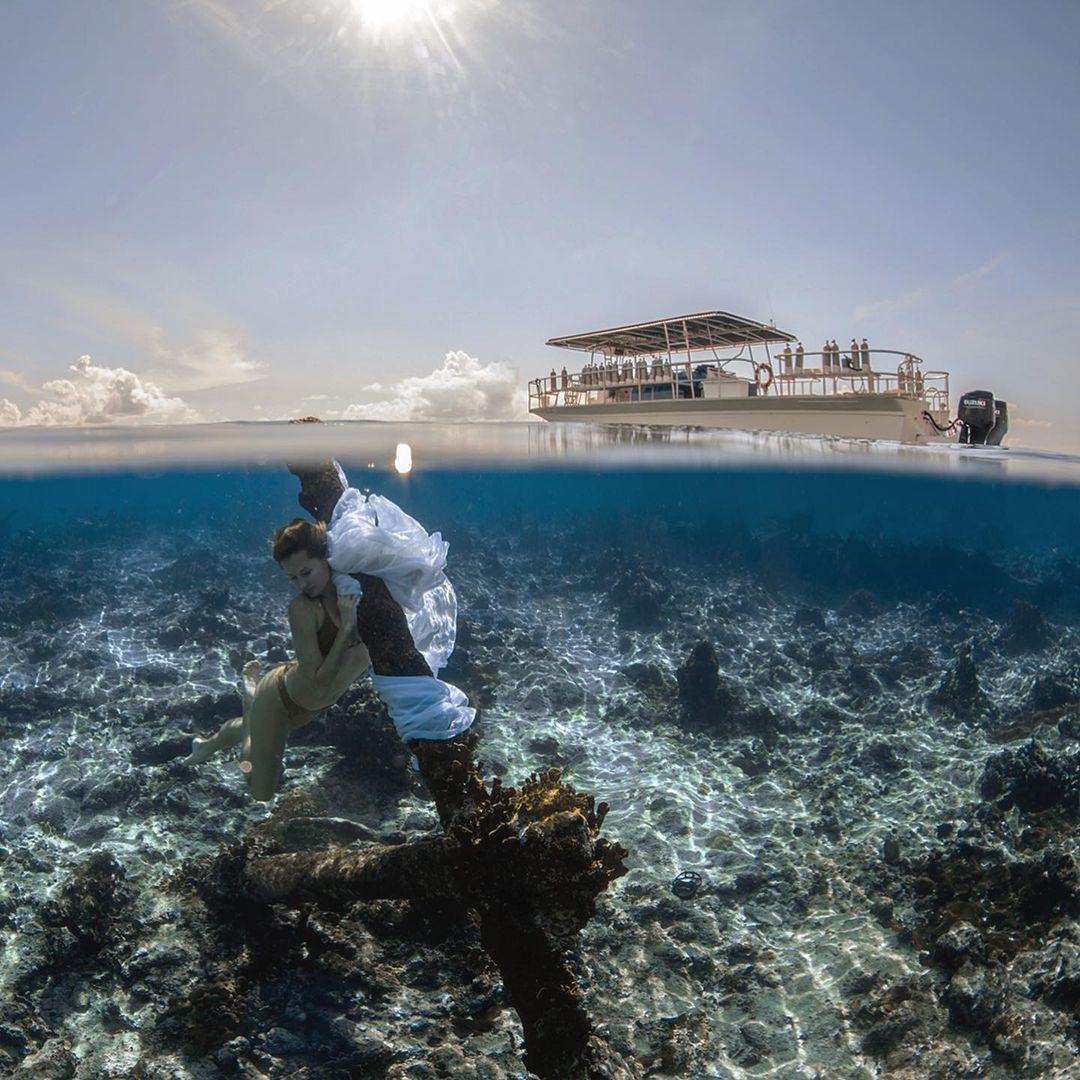 Захватывающие подводные снимки от Джейсона Вашингтона