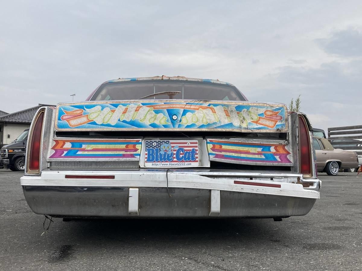 Психоделический лимузин Cadillac из Японии