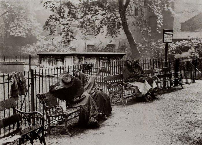 Снимки о жизни лондонского дна от Джека Лондона