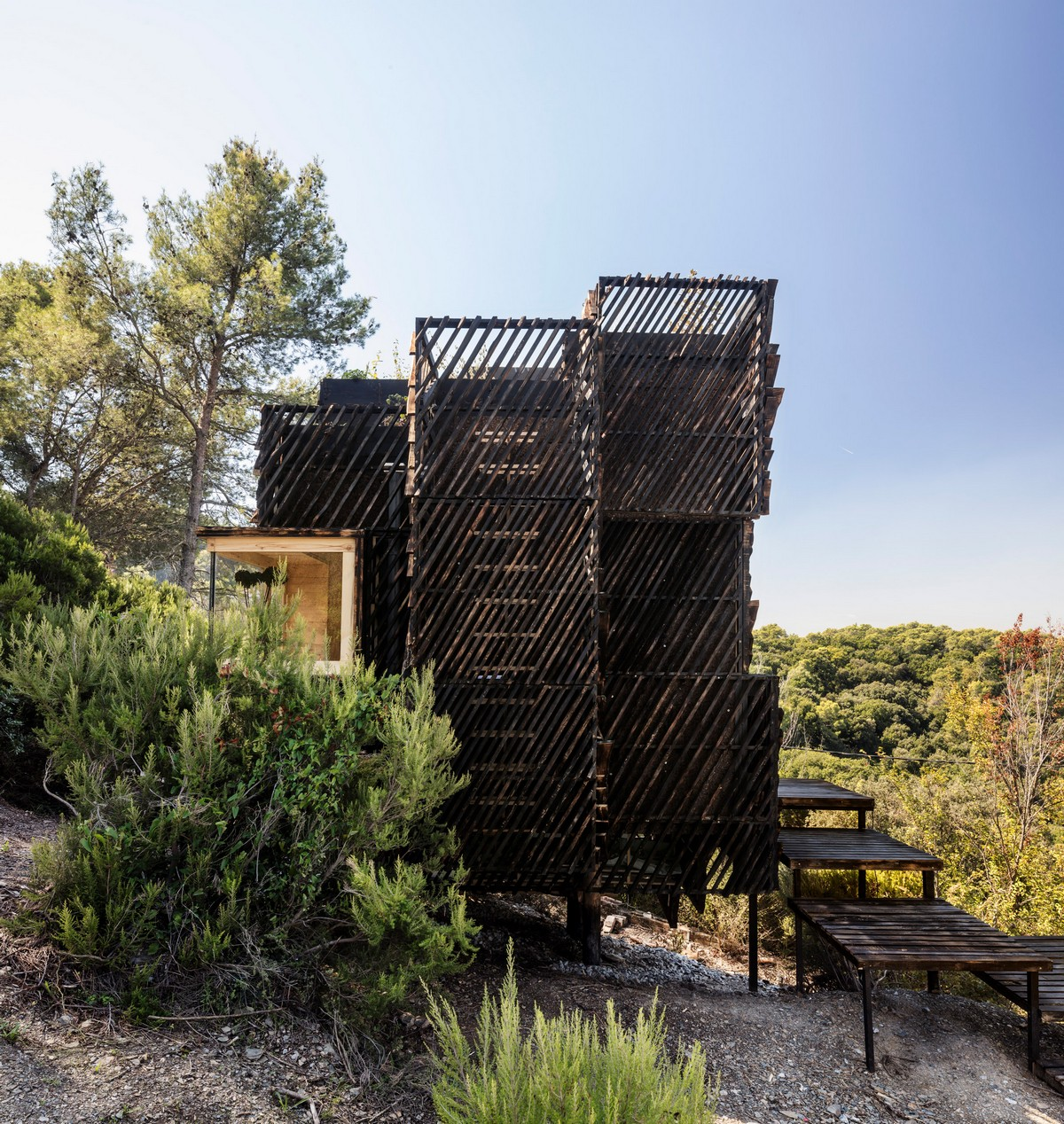 Экологический домик для самоизоляции в Испании