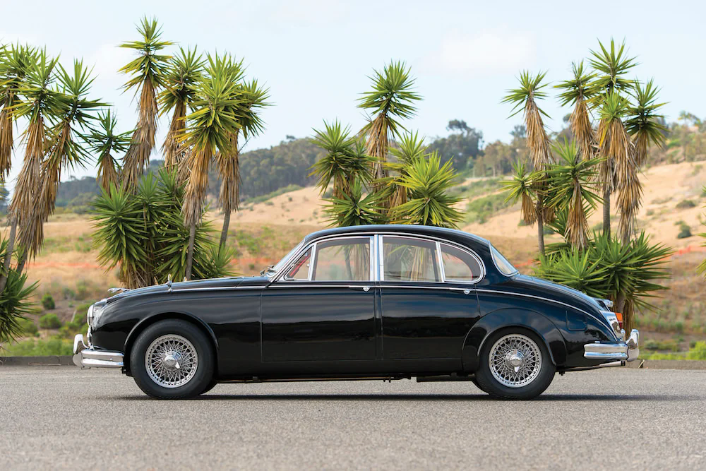 Jaguar Mark II — главный автомобиль британского бандитизма
