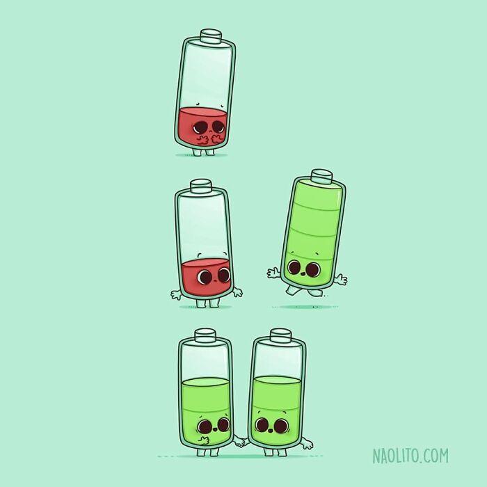 Забавные комиксы от испанского художника Naolito