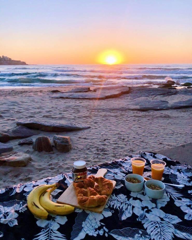 Завтрак с прекрасным видом становится вкуснее
