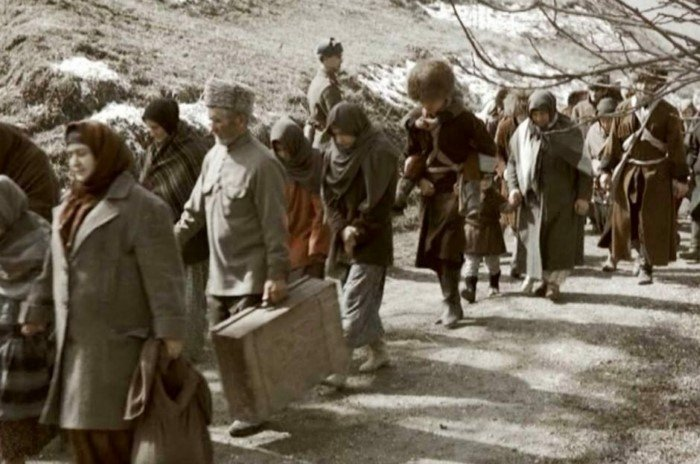 Крупные народы СССР, депортированные Сталиным из родных краёв