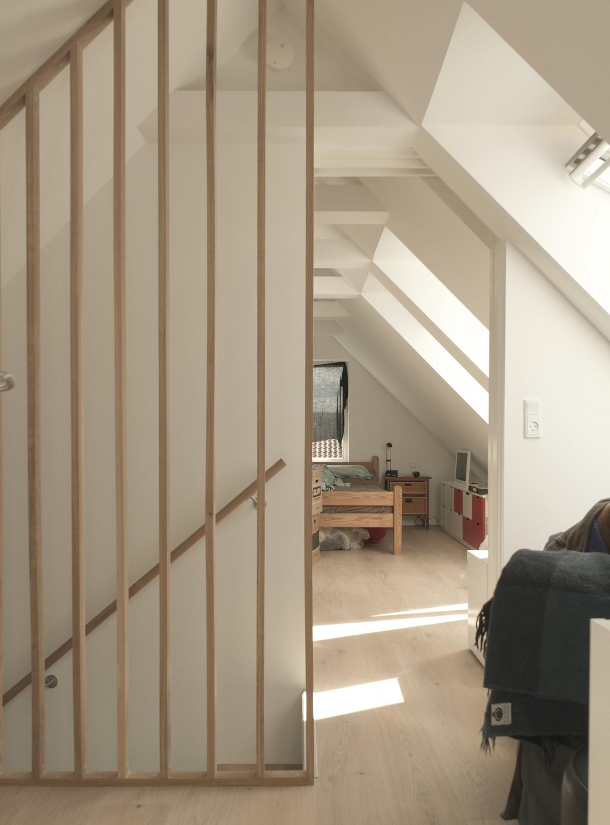 Проект «Скворечники» с желтой черепицей в Дании