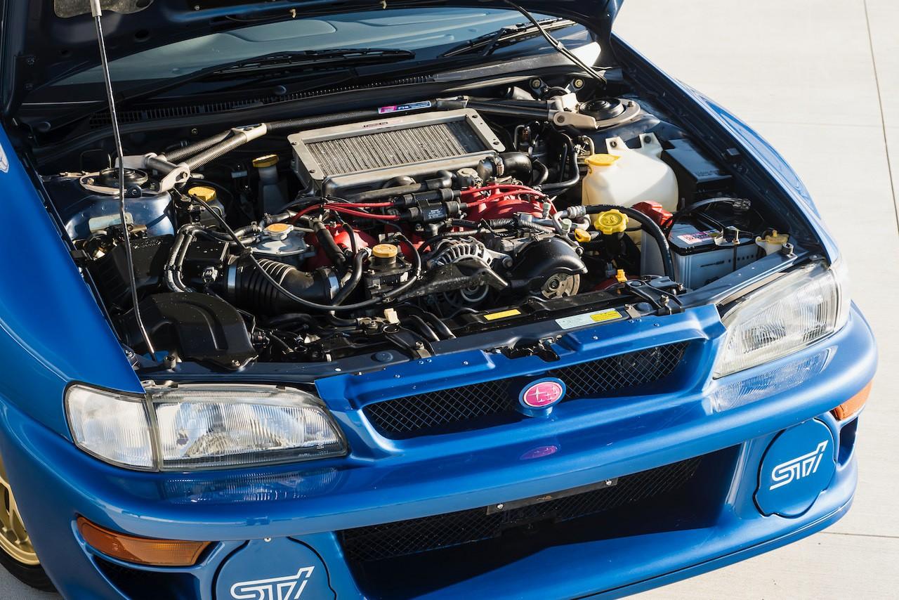 Купе Subaru Impreza продали более чем за $300,000
