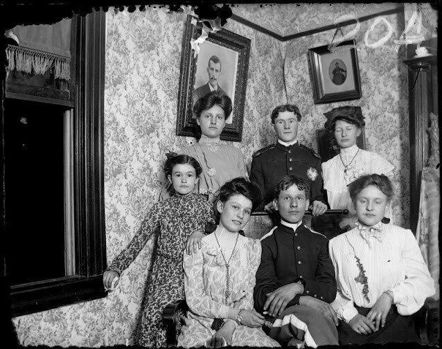 Жизнь в Америке начала ХХ века на снимках