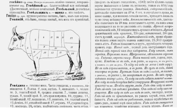 Интересные и небанальные факты о словаре Даля