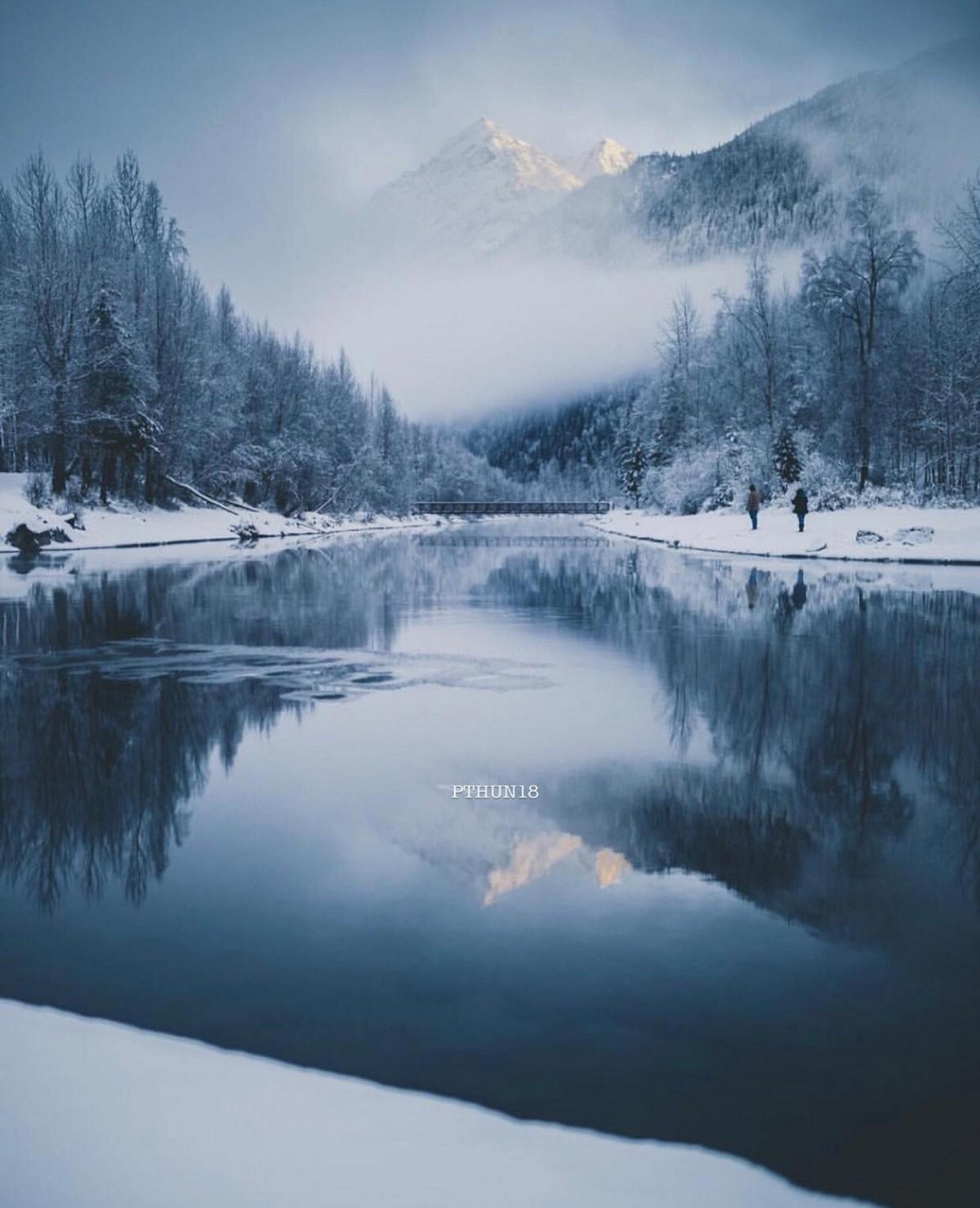 Природа Аляски на снимках Патрика Туна Природа
