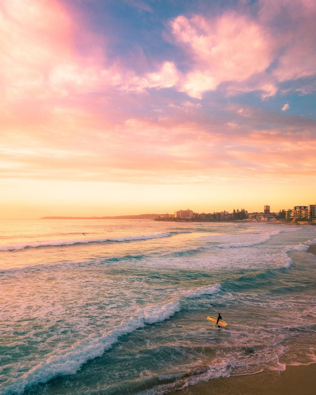 Красоты Австралии с высоты на аэрофотоснимках Джона Дина
