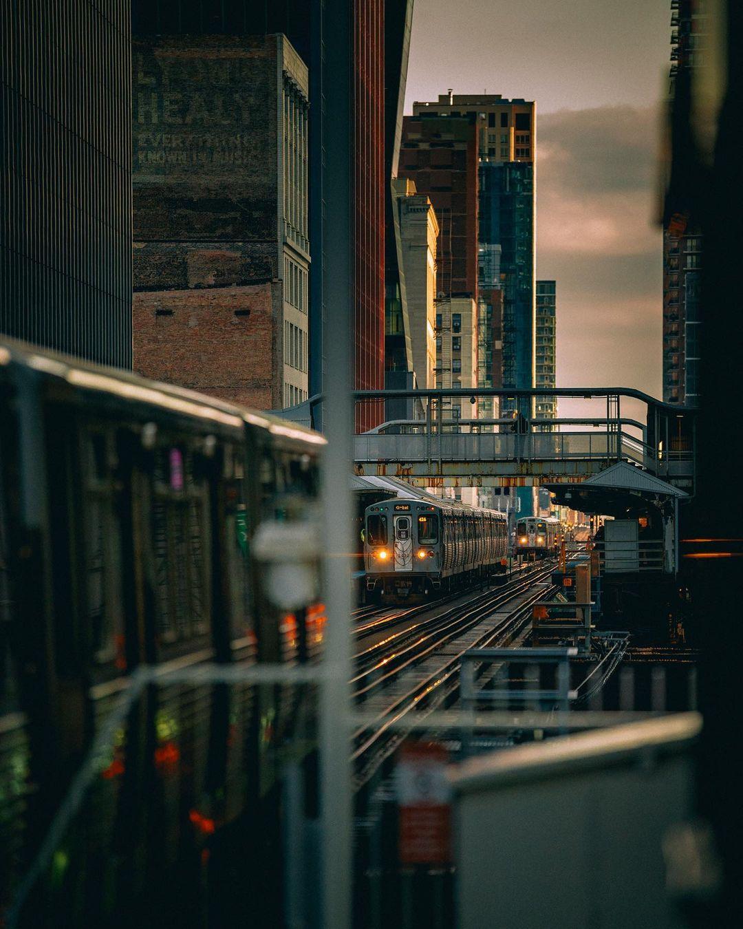 Городские и уличные снимки из Америки от Ника Кроуфорда