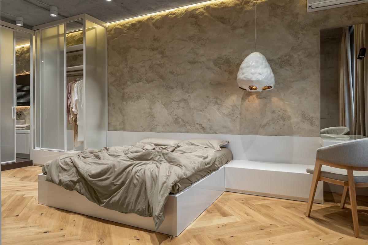 Современная квартира, стилизованная под украинскую мазанку
