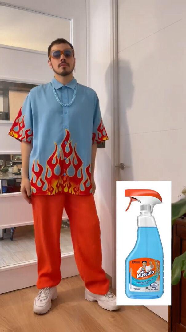 Стильные наряды, вдохновлённые продуктами и предметами домашнего обихода