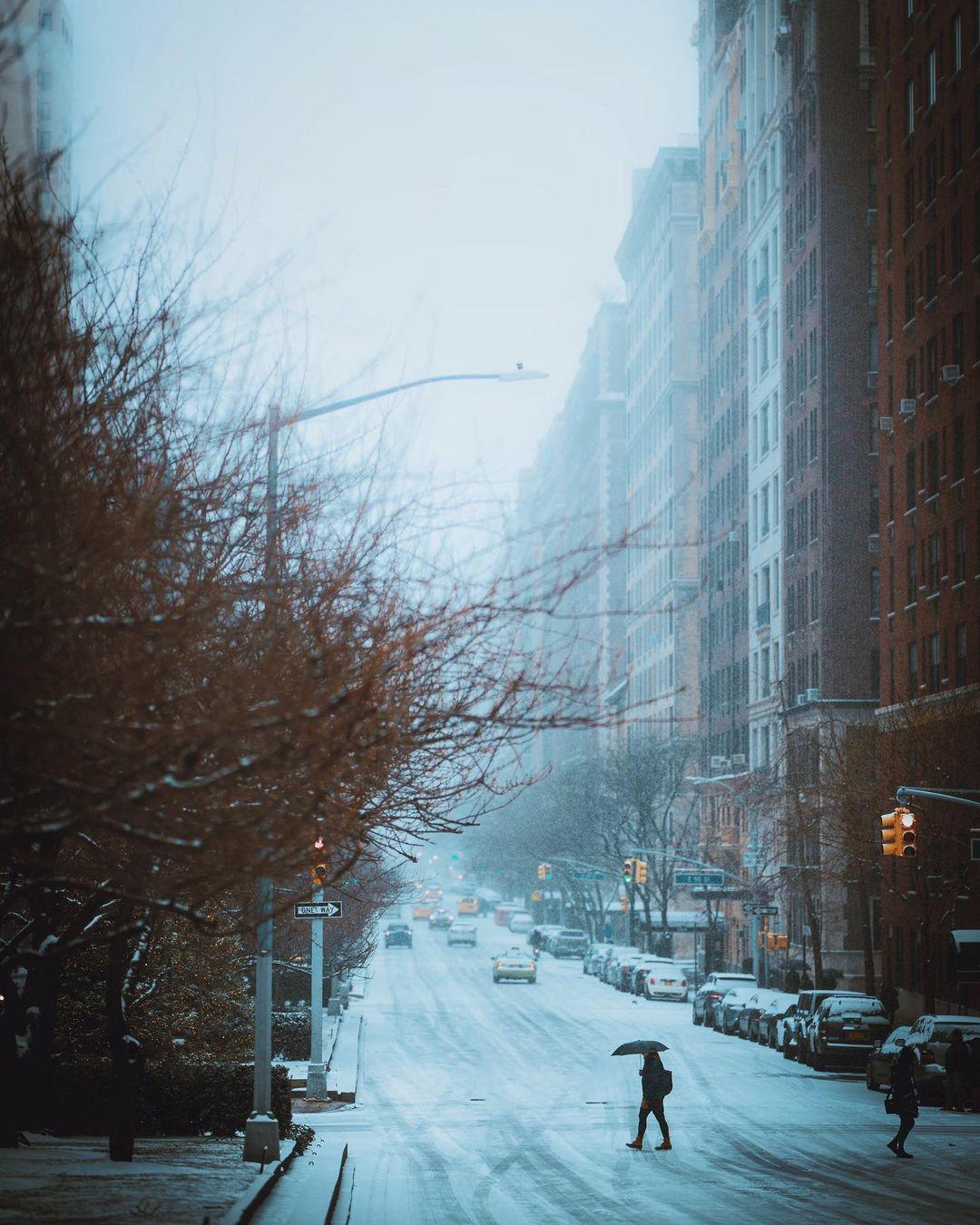 Городские пейзажи Нью-Йорка от Джейсона Ли