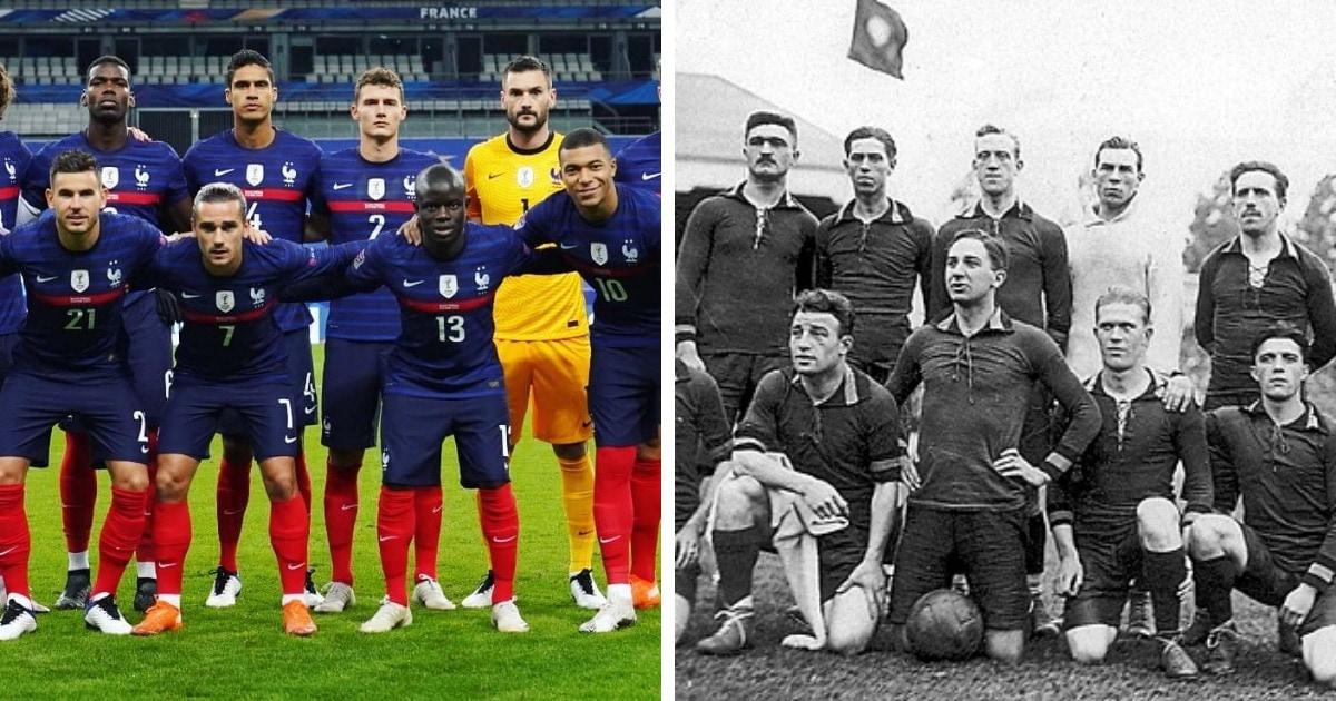 Как выглядели профессиональные спортсмены столетие назад и сейчас