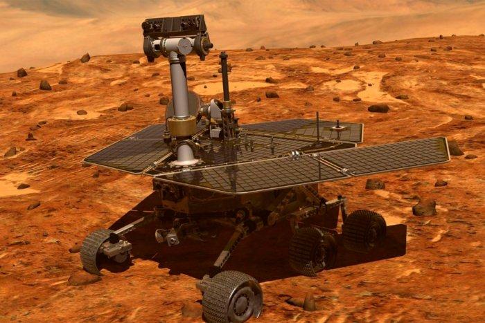 Откуда на Марсе берется электричество?