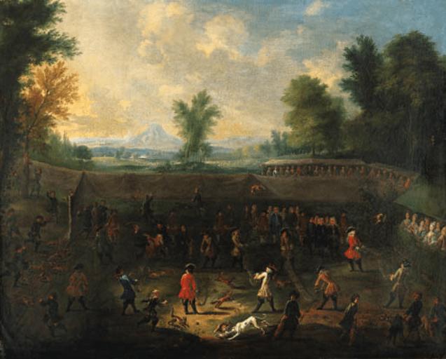 Метание лисиц – забытый абсурдный немецкий вид спорта