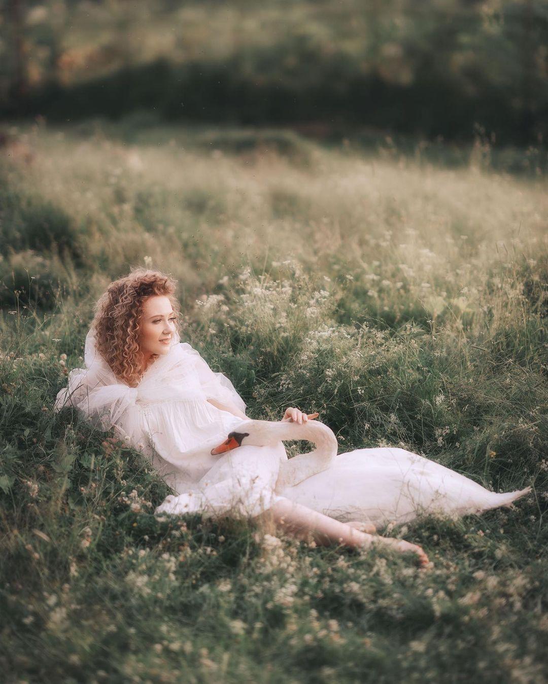 Художественные портреты девушек от Дарьи Булавиной
