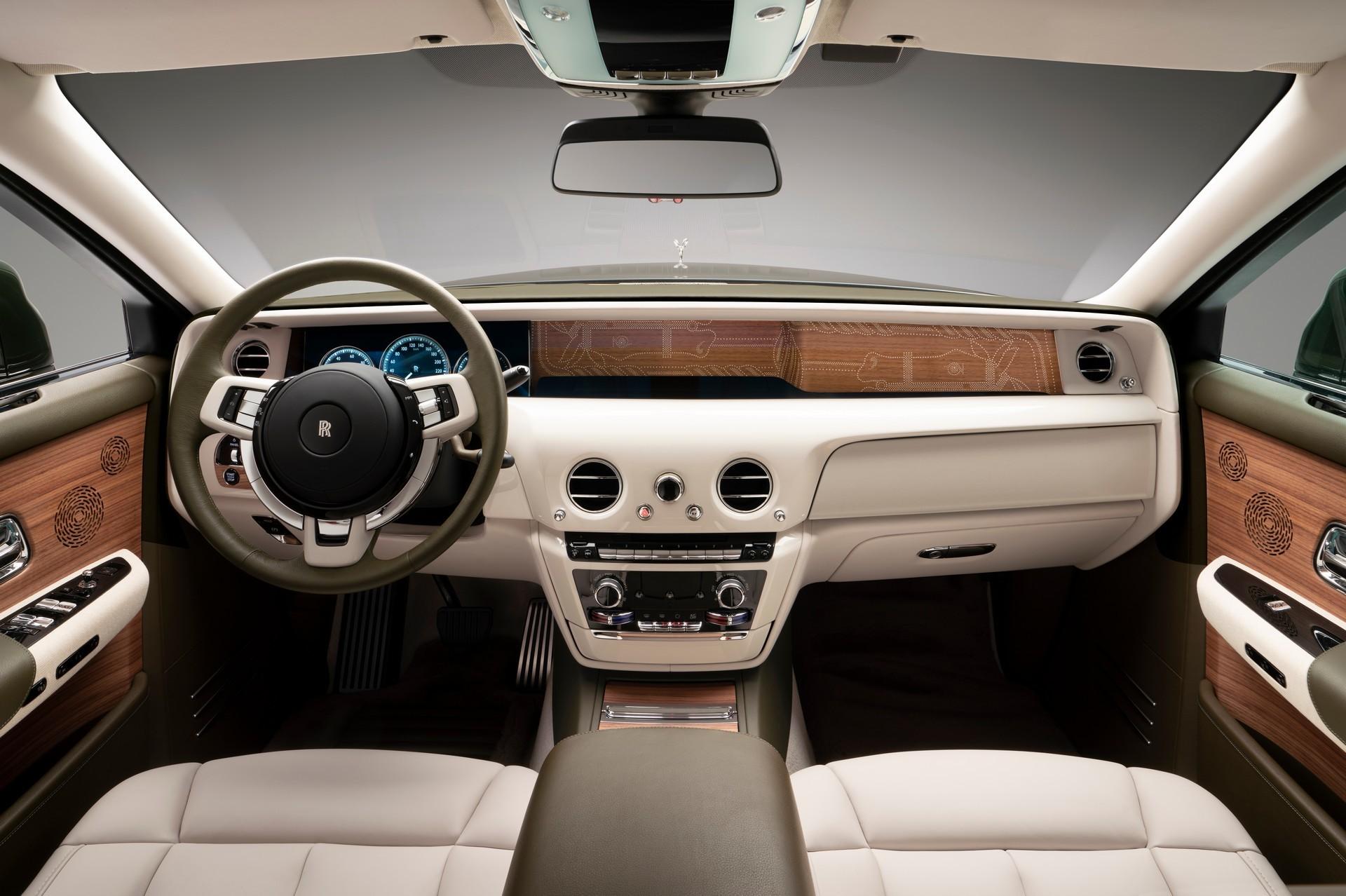 Эксклюзивный Rolls-Royce Phantom Oribe для японского миллиардера