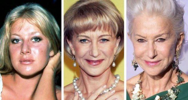 Как с возрастом менялись знаменитости